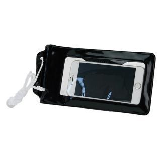 スタンド付き完全防水ケース Jelly Fish S Plus ブラック 多機種対応(iPhone/Android)