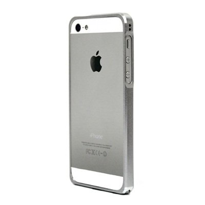 iPhone SE/5s/5 ケース Alloy X  iPhone SE/5s/5 シルバー_0