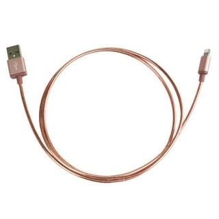 [1m]USB to Lightning  ストロンゲストハイメタルケーブル ローズ