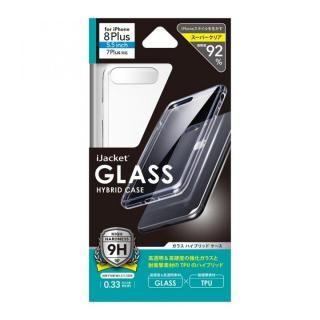 【iPhone8 Plus/7 Plusケース】iJacket 強化ガラス/TPU ハイブリットケース iPhone 8 Plus/7 Plus_2