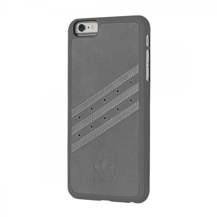 【iPhone6s Plus/6 Plusケース】adidas スエード ハードケース グレイ iPhone 6s Plus/6 Plus_0