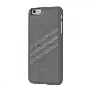 【iPhone6s Plus/6 Plusケース】adidas スエード ハードケース グレイ iPhone 6s Plus/6 Plus