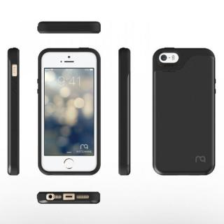 【iPhone SE/5s/5ケース】カード2枚収納可能 MATCH4 CARD CAPSULES メタリックブラック iPhone SE/5s/5_1