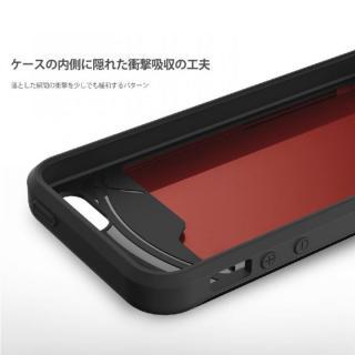 【iPhone SE/5s/5ケース】カード2枚収納可能 MATCH4 CARD CAPSULES メタリックブラック iPhone SE/5s/5_7