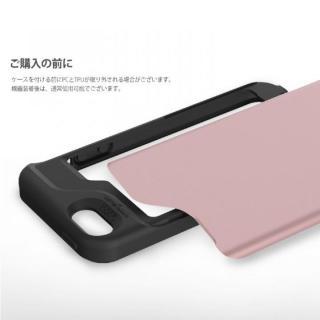 【iPhone SE/5s/5ケース】カード2枚収納可能 MATCH4 CARD CAPSULES メタリックブラック iPhone SE/5s/5_8