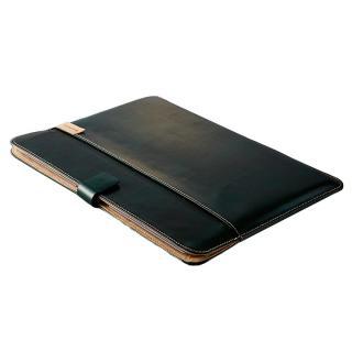 エコレザーブックスリーブ グリーン MacBook 12インチ用