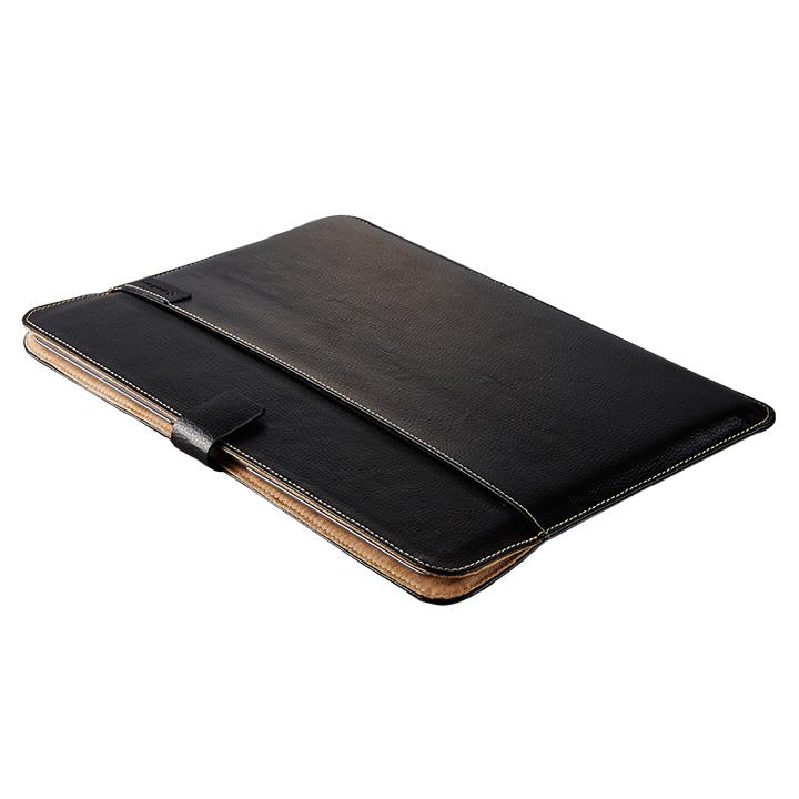 エコレザーブックスリーブ ブラック MacBook 12インチ用_0