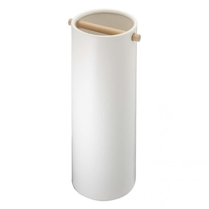 陶器傘立て コモ スリム ホワイト