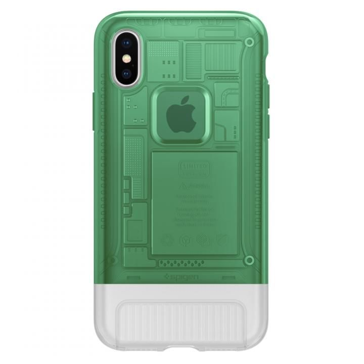 iPhone X ケース Spigen Classic C1 セージ iPhone X_0