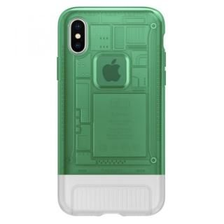 iPhone X ケース Spigen Classic C1 セージ iPhone X