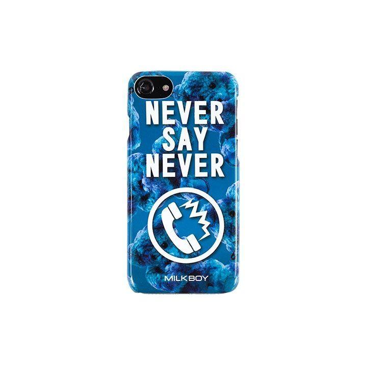 MILKBOY(ミルクボーイ)  NEVERPHONEBEARS ブルー iPhone 8/7/6s/6