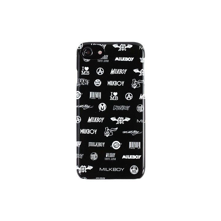 【iPhone8/7/6s/6ケース】MILKBOY(ミルクボーイ)  LOGO PANIC 背面ケース iPhone 8/7/6s/6_0