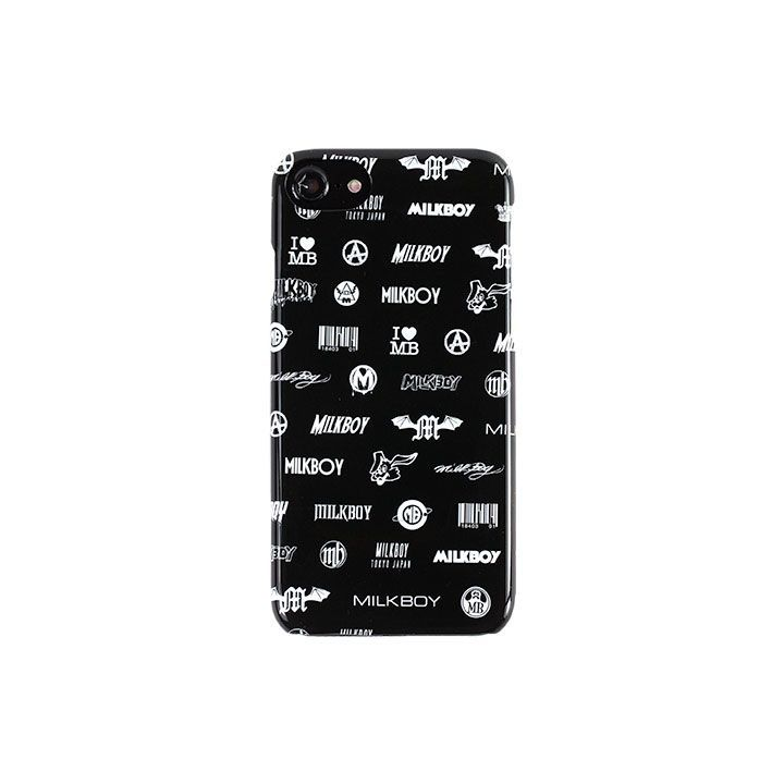 MILKBOY(ミルクボーイ)  LOGO PANIC 背面ケース iPhone 8/7/6s/6