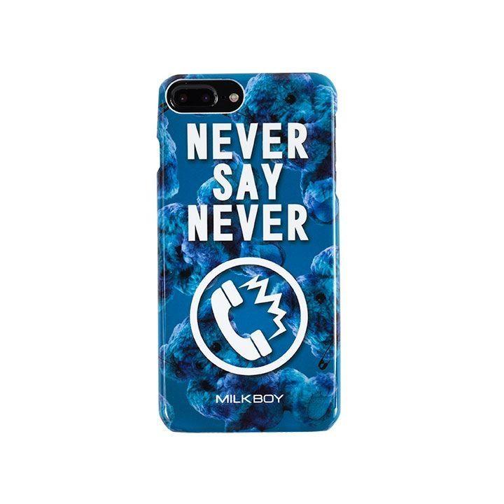 iPhone8 Plus/7 Plus ケース MILKBOY(ミルクボーイ)  NEVERPHONEBEARS ブルー iPhone 8 Plus/7 Plus/6s Plus/6 Plus_0
