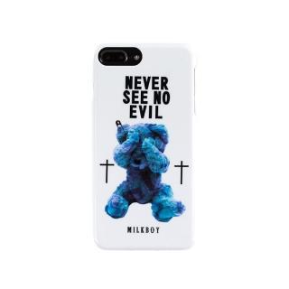 【iPhone8 Plus/7 Plusケース】MILKBOY(ミルクボーイ)  SEE NO EVILBEARS ホワイト iPhone 8 Plus/7 Plus/6s Plus/6 Plus