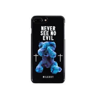【iPhone8 Plus/7 Plusケース】MILKBOY(ミルクボーイ)  SEE NO EVILBEARS ブラック iPhone 8 Plus/7 Plus/6s Plus/6 Plus