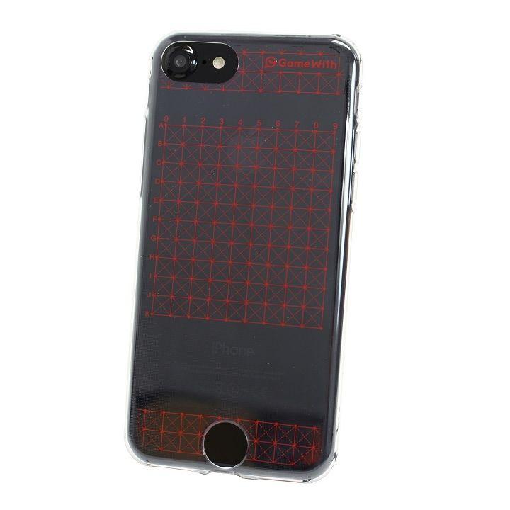 iPhone7 ケース GameWith監修 グリッドケース レッド iPhone 7_0