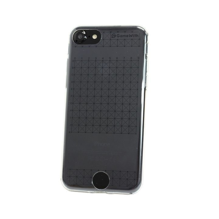 GameWith監修 グリッドケース ブラック iPhone 6s/6