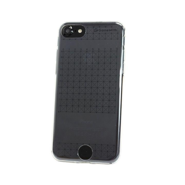 iPhone7 ケース GameWith監修 グリッドケース ブラック iPhone 7_0