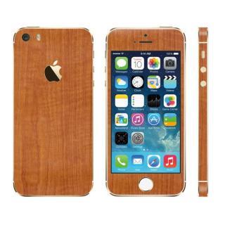 ウッド調 プレミアムスキンシール チーク iPhone SE/5sスキンシール - AppBank Store | 最新のiPhoneケース・カバー、スマホバッテリー専門通販