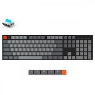 Keychron K1 ワイヤレス・メカニカルキーボード White LED US テンキー付 Gateron青軸