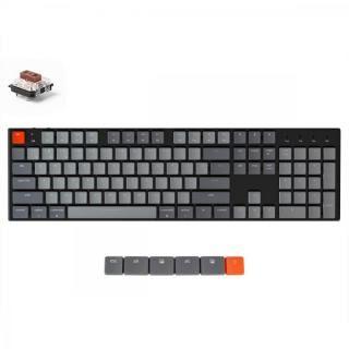 Keychron K1 ワイヤレス・メカニカルキーボード White LED US テンキー付 Gateron茶軸