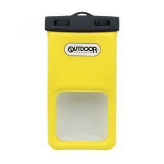 IP68取得で防塵・防水 OUTDOORコラボレーションスマートフォン用防塵・防水ケース イエロー