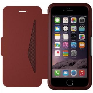 【iPhone6ケース】本革製 耐衝撃手帳型ケース OtterBox Strada ボルドー iPhone 6_1