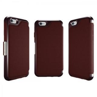 【iPhone6ケース】本革製 耐衝撃手帳型ケース OtterBox Strada ボルドー iPhone 6_3