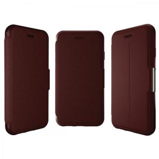 【iPhone6ケース】本革製 耐衝撃手帳型ケース OtterBox Strada ボルドー iPhone 6_4