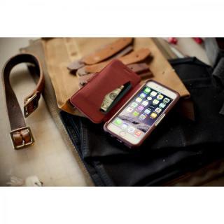 【iPhone6ケース】本革製 耐衝撃手帳型ケース OtterBox Strada ボルドー iPhone 6_5
