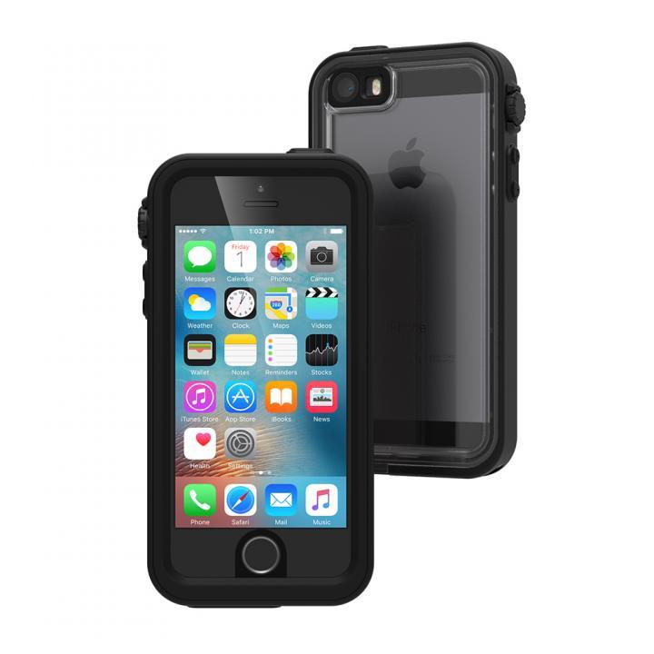 iPhone SE/5s/5 ケース Catalyst(カタリスト) 完全防水ケース CT-WPIP16E  ブラック iPhone SE/5s/5_0