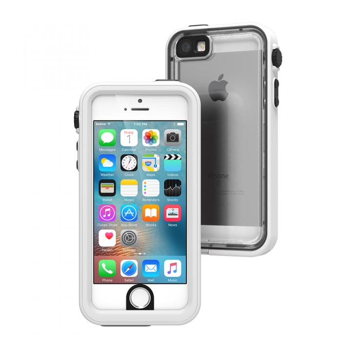 iPhone SE/5s/5 ケース Catalyst(カタリスト) 完全防水ケース CT-WPIP16E  ホワイト iPhone SE/5s/5_0