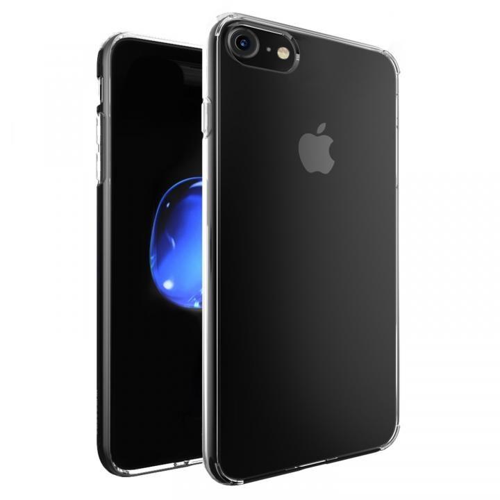 強化ガラス/TPU ハイブリットクリアケース iPhone 7【7月上旬】
