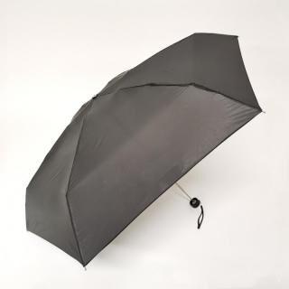 こんな小ささ見たことない!!雨晴兼用世界最小5段マイクロ無地ミニ ブラック