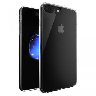 強化ガラス/TPU ハイブリットクリアケース iPhone 7 Plus