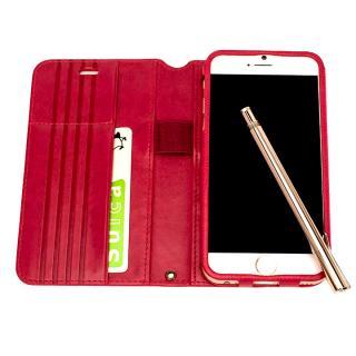 【iPhone6s/6ケース】Su-Penホルダー付き 最薄 手帳型レザーケース  iPhone 6s/6_1