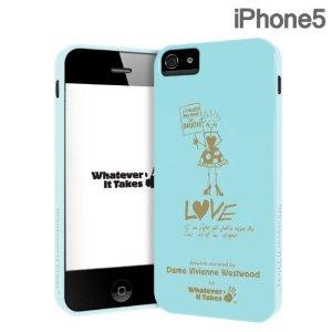 iPhone SE/5s/5 ケース アートワークケース Whatever It Takesヴィヴィアンウエストウッド iPhone 5s/5ケース_0