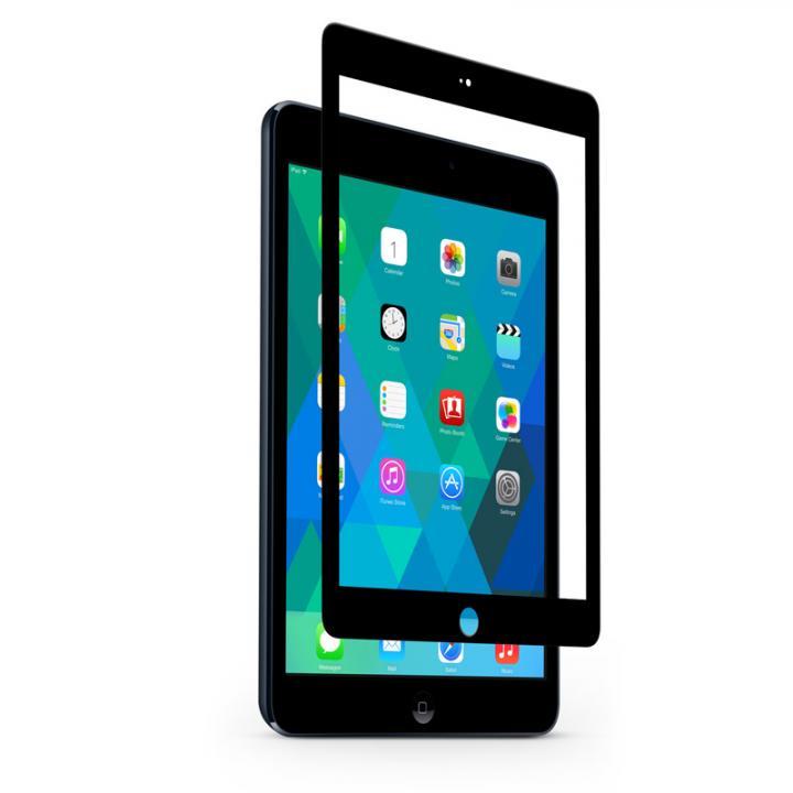 [0.4mm] 強化ガラス moshi iVisor Glass ブラック iPad Air_0