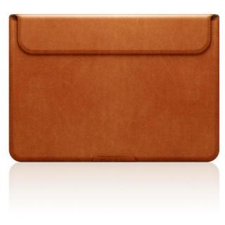 MacBook 12インチ対応 スタンドケース D5 Artificial Leather タンブラウン