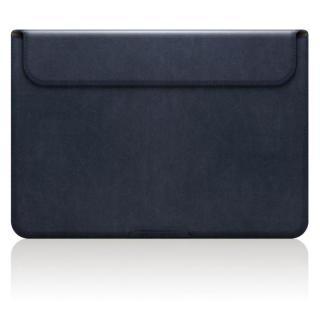 MacBook 12インチ対応 スタンドケース D5 Artificial Leather ネイビー