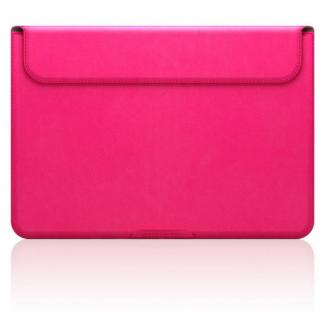 MacBook 12インチ対応 スタンドケース D5 Artificial Leather ピンク