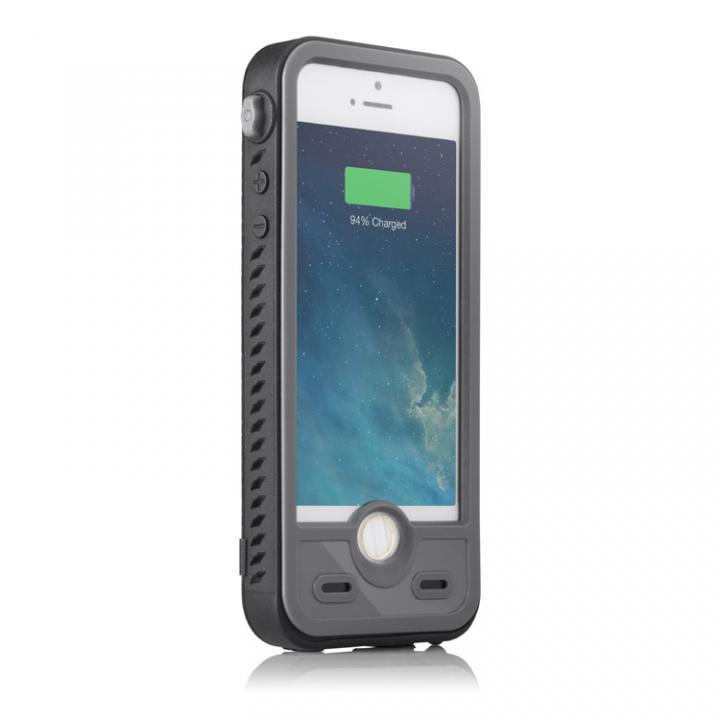 iPhone SE/5s/5 ケース バッテリー内蔵ケース Touch ID対応 ibattz Aqua-S iPhone SE/5s/5ケース_0