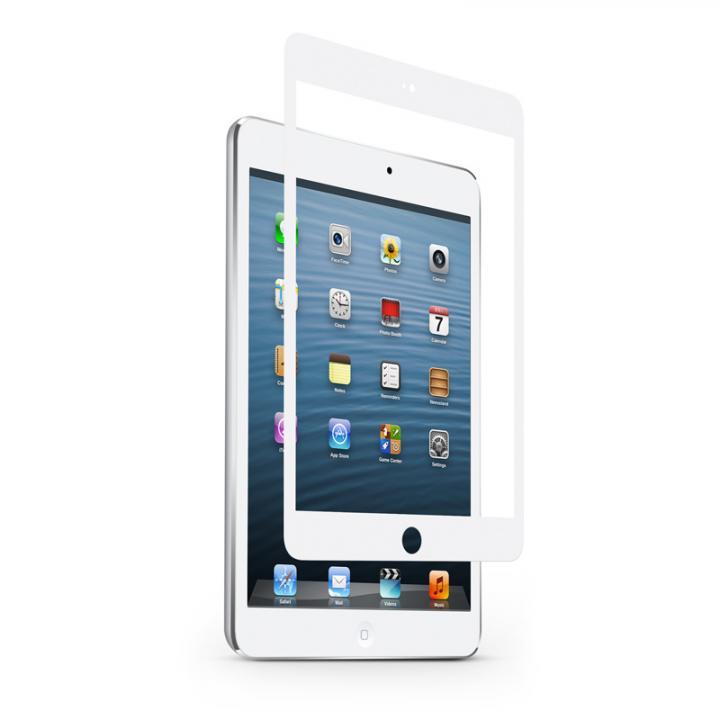[0.4mm] 強化ガラス moshi iVisor Glass ホワイト iPad mini/2/3対応_0