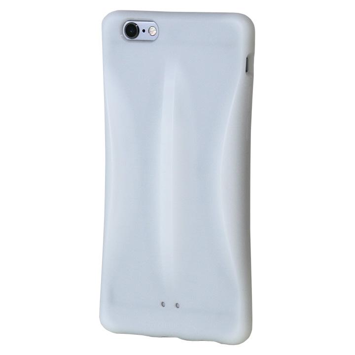 iPhone6s/6 ケース monobeax 滑らないエラストマーケース ホワイト_0
