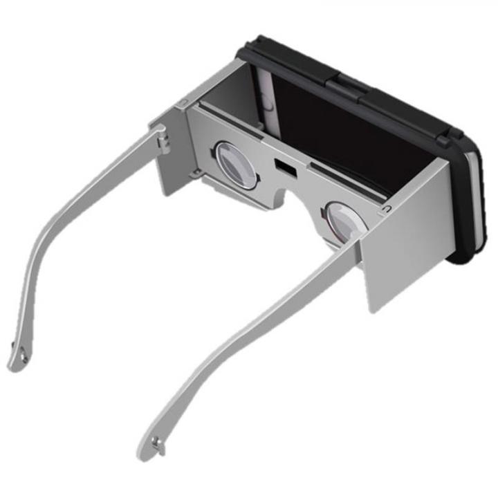 ケース一体型VRレンズ VR-CASE2 シルバー iPhone 6s/6専用_0