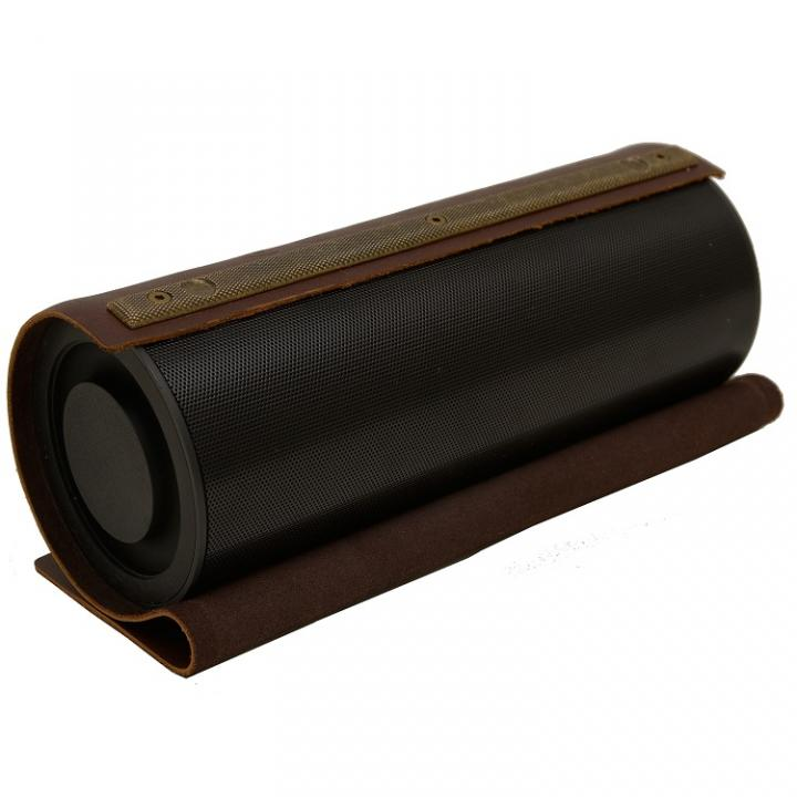 リアルレザー・リアルサウンド The Bull Bluetoothスピーカー ブラック