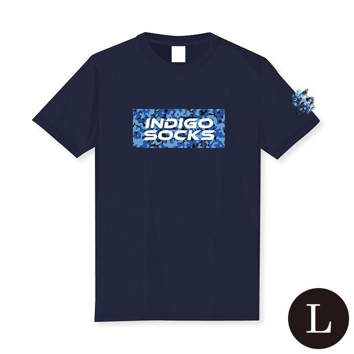 徳島インディゴソックス ドライTシャツ L_0
