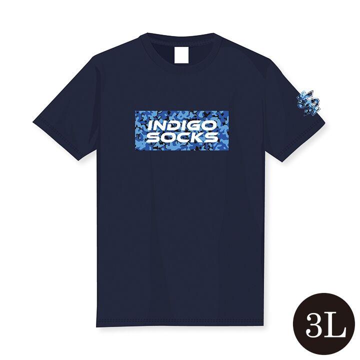 徳島インディゴソックス ドライTシャツ 3L_0