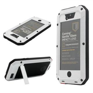超強度メタルケース Tyrannosaurs.Rex ホワイト(スタンド有) iPhone SE/5s/5ケース